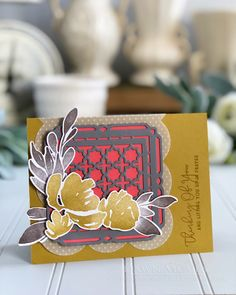 Lifting You Up Card by Dawn McVey for Papertrey Ink (July 2018)