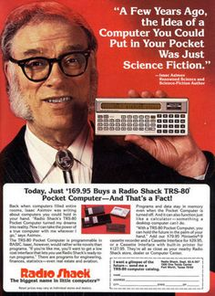 Radio Shack TRS-80 pocket computer