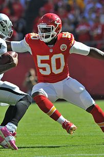 Tamba Hali and Justin Houston. | 11 Reasons You Should Start Loving The Kansas City Chiefs