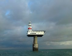 Royal Sovereign Lighthouse from Eastbourne