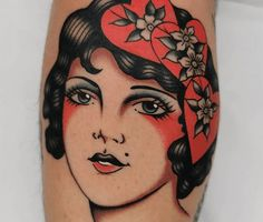 Birth Flowers & Over 50 Best Birthday Flower Tattoo Ideas - Tattoo Stylist Traditional Tattoo Guide, Traditional Tattoo Portrait, Traditional Compass Tattoo, Daisy Tattoo Designs, Crow Tattoo Design, Tattoo Designs And Meanings, Inspiration Tattoos, Tattoo Ideas, American Traditional