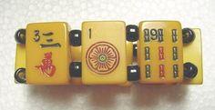 S symbol mah jong bracelet Jan Carlin Original