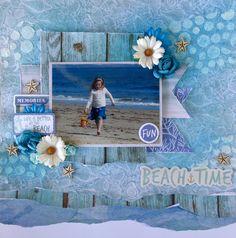 Beach+Time - Scrapbook.com