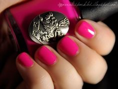 NOX Twilight - Crush*** omg there is twilight polish!? I feel so ashamed I didn't know. I immediately recognized the Cullen Crest.