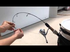 Collapsible and Bucket automatic fisherman(I call it Auto-Setter) - YouTube
