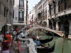 Venice, Italy...Been to..loved wondering the narrow paths along the canals.