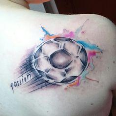 Tattoo Football Passion by Eastside Tattoo
