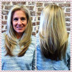 Partial Highlight and Hair cut
