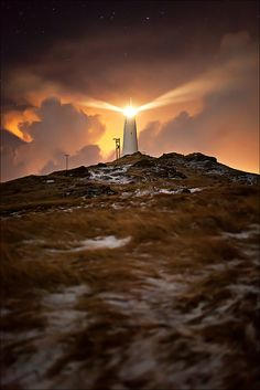 Oh, I thank God for the lighthouse! I owe my life to Him. King Jesus is the lighthouse upon the rocks of sin. He has shone a light around me so I could clearly see. If it wasn't for the lighthouse, then where would this ship be.