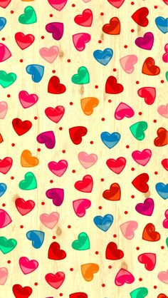 Hearts Wallpaper discovered by amyjames on We Heart It Rainbow Wallpaper, Heart Wallpaper, Butterfly Wallpaper, Wallpaper Iphone Cute, Love Wallpaper, Cellphone Wallpaper, Colorful Wallpaper, Nature Wallpaper, Pattern Wallpaper