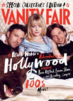 ah, but to be emma stone on the cover of Vanity Fair's annual Hollywood issue...