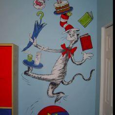Dr. Seuss Mural by coloryourworldbyana.com!
