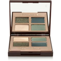 Charlotte Tilbury Luxury Palette Colour-Coded Eye Shadows - The Rebel ($46) ❤ liked on Polyvore featuring beauty products, makeup, eye makeup, eyeshadow, cosmetics, eyes and palette eyeshadow