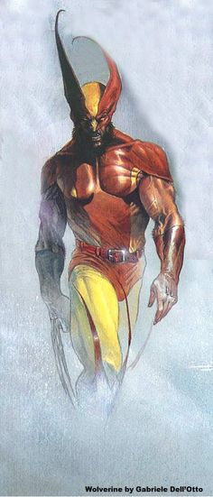 WOLVERINE By Gabriele Dell'Otto, not only is this guy became my favorite artist by far since I found him 5 or more years ago, but this is HANDS DOWN ! My FAVORITE picture ive ever seen of Wolverine by any artist. Absolutely rocks love this pic so much. Comic Book Artists, Comic Book Characters, Comic Book Heroes, Marvel Characters, Comic Artist, Comic Character, Comic Books Art, Marvel Comics, Marvel Art