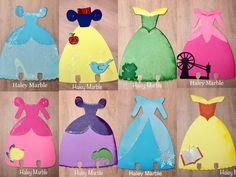 Disney Princess Memory Dex Cards 📇 made by Haley Marble July 2017 Disney Princess Crafts, Disney Princess Birthday, Disney Princess Dresses, Disney Diy, Walt Disney, Princess Cupcake Toppers, Princess Cupcakes, Princess Quiet Book, Pink Princess Party