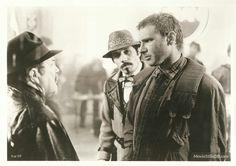 Blade Runner - Publicity still of Harrison Ford, Edward James Olmos & M Emmet Walsh