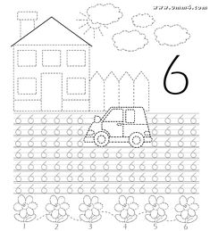 Preschool Learning Activities, Kindergarten Writing, Preschool Classroom, Teaching Math, Kids Learning, Math Coloring Worksheets, School Worksheets, Math Numbers, Writing Numbers