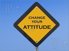funny+road+signs | Image of Funny traffic sign telling drivers to change their attitude ...