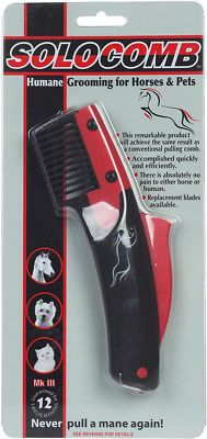 Grooming Brushes 183399: Shires Equestrian Products Solocomb Humane Grooming For Horses And Pets -> BUY IT NOW ONLY: $31.95 on eBay!