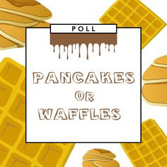 TEAM Pancakes or TEAM Waffles? Let us know which rules your plate!
