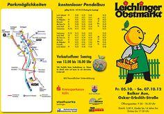 Obstmarkt Flyer 2012