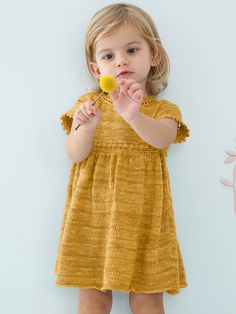 Hæklet kjole med diamant mønster Diamond Dress Free Crochet
