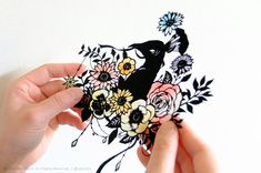 Blog Categories, Blog Entry, Botany, Paper Cutting, Journal, Floral, Color, Flowers, Colour