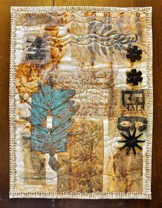 Tea Bag Quilt 1 by LuAnn Kessi