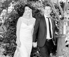 simple wedding of Zuckerberg