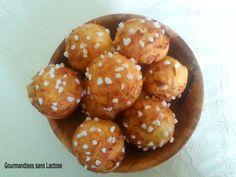 Chouquettes sans Lactose #sanslactose