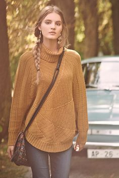 Harvest Moon Poncho #anthropologie