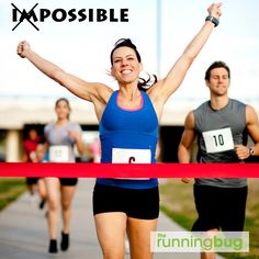 Anything is possible when you run.