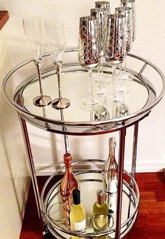How To Style A Bar Cart Ideas To Try In 2016 Pinterest