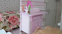 Como fazer um lavatorio pia para o banheiro da Barbie
