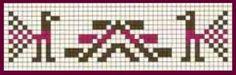 Bolivean knitting chart