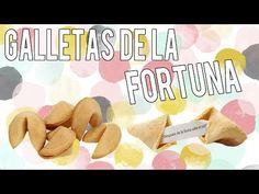 Como hacer galletas de la fortuna - postres sin horno - Tutoriales Belen - YouTube