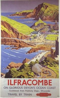 1960's Ilfracombe British Railways A3 Poster Reprint by VPS https://www.amazon.co.uk/dp/B009MX0HRC/ref=cm_sw_r_pi_dp_x_fA4nybR329F93