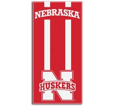 Use this Exclusive coupon code: PINFIVE to receive an additional 5% off the Nebraska Cornhuskers Zone Read Beach Towel at SportsFansPlus.com