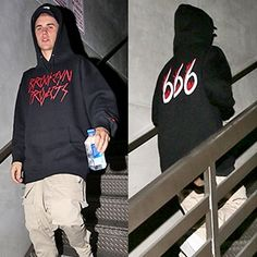 Justin Bieber's 666 Hoodie. Bieber is another abused child star, preyed upon by occult entertainment industry pedophiles, betrayed by his parents, and used as an Illuminati puppet.