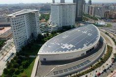 La cubierta fotovoltaica del Palacio de Congresos de Valencia generó 1,5 millones de kWh en cinco años