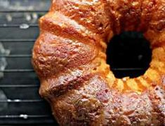 Salted Caramel Bundt Cake