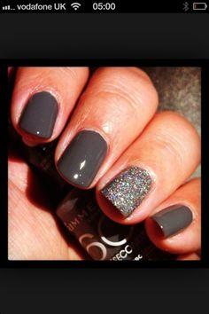 Grey nails. what im getting tomorrow