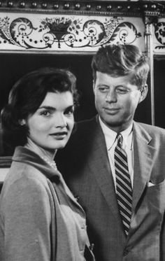 Jack and Jackie...look at the way he looks at her. Lucky Jackie