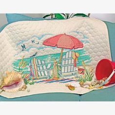 Dimensions® At the Beach Quilt Stamped Cross-Stitch Kit Was: $43.99                     Now: $28.99