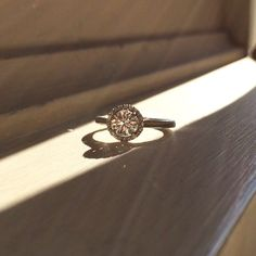 0.71ct GIA Certified Diamond Halo Engagement Ring