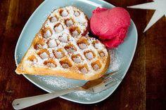 Adiós comida chatarra no panqueques, dulces, waffles