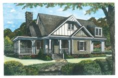 18 Small House Plans: Cedarbrook, Plan #408