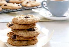 """Découvrez les #biscuits aux brisures de #chocolat, recette préférée de Karine Paiement, grande gagnante de notre concours """"Quelle est votre recette de Coup de pouce préférée?"""" #CDP30"""
