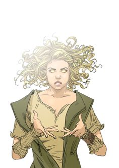 I am the Bad Wolf. <= Does... does anyone else think she looks like an earth bending avatar?