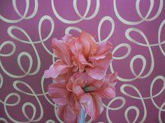 Flor - H. Amarilis Real T. ( Rosa )